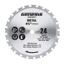 4 3 4 in metal cutting saw blade