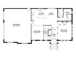 one story house plans with basement open floor house plans one two story house plans with