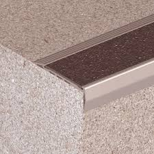 exterior stair treads and nosings. stair nosing rubber vinyl metal · down exterior treads of carborundum view and nosings