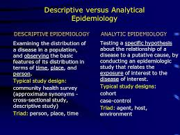 Epidemiology   Research Methods