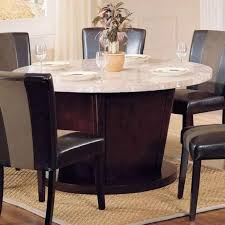 britney round dining table with marble top