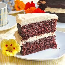 red velvet cake texture. Chocolate Velvet Cake Red Texture
