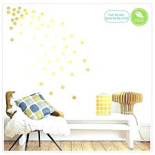 gold wall decals gold polka dot wall decals gold wall decals polka dots wall stickers vinyl gold wall decals