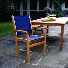 kingsley bate elegant outdoor furniture st tropez stacking armchair