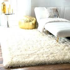 soft white rug for nursery solid and plush grey