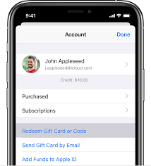 itunes gift card apple support