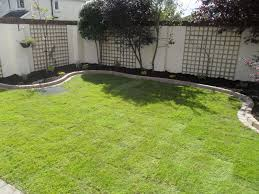 ... Design: amusing Garden, Outstanding Green Oval Vintage Grass Simple  Garden Ideas Decorative Trees Ideas: amusing simple ...