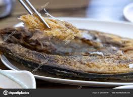 Korean food - Grilled mackerel — Stock ...