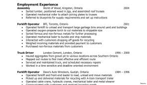 Forklift Operator Resume Forklift Operator Resume 100 Warehouse Sample 100a Example 22
