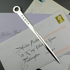 original solid silver letter opener