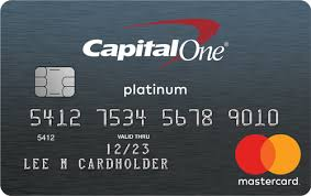Capital One Venture Card Mileage Chart Capital One Platinum Credit Card Review Money Under 30