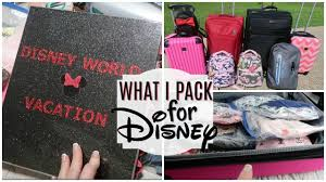Disney Packing For Family Of Five Vlog Organization Tips Kids Clothes Where I Bought Them