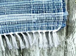 blue jean rug anchors away woven denim rag jeans crochet sheepskin