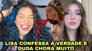 LISA BARCELOS confessa caso com NEGO DO BOREL e DUDA chora muito 😥😥😥 -  YouTube