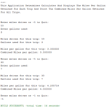 How To Figure Out Gas Mileage Java Gas Mileage Calculator Computer Science Programming Tutorials