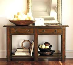 entry hall tables round hall table entry hall table curio shelf and front in ideas com