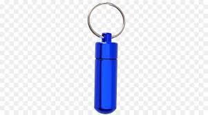 urn key chains charms pendants cobalt blue keychain png