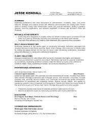 Proper Resume Objective Entry Level Resume Objective Examples The ...