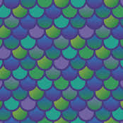 Purple Green Mermaid Fish Scales In Purple And Green Wallpaper Little_fish
