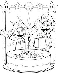 Luigi Printable Coloring Pages Luigi Printable Coloring Pages And