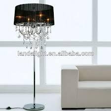 attractive floor chandelier lighting standing lamp within plans 5