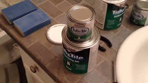 How to paint bathtub and tile with Rust-Oleum Tub and Tile Step ...
