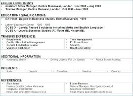 Interest Examples For Resume Dew Drops