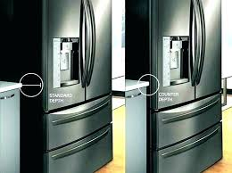 kitchenaid side by side refrigerators counter depth refrigerator side by side dishwasher lg counter depth refrigerator