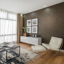 Example of a trendy living room design in Berkshire