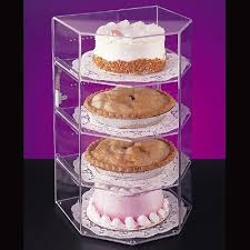 Pie Display Stand Interesting CalMil 32 Cake Pie Display Case Acrylic Acrylic Display