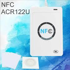 <b>ACR122u NFC</b> Reader Writer <b>13.56Mhz</b> RFID Copier Duplicator ...