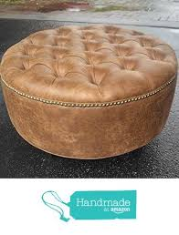 leather ottoman coffee table ottoman