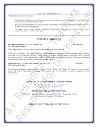 Esl Teacher Resume Sample Awesome Collection Of Sample Cover Letter