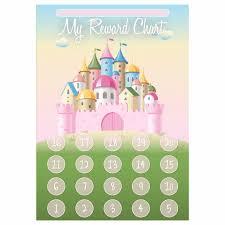 A3 Princess Castle Reward Chart And 35 Matching Stickers