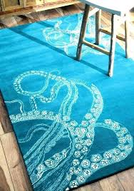 outdoor beach rugs ocean themed area