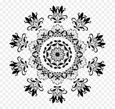black and white snowflake pattern. Interesting Black Black And White Snowflake Clipart 24  Line Art Floral Designs Png With Pattern E