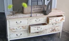 distressed looking furniture. if youu0027re looking for a distressed and weatherbeaten look little elbow grease some milk paint give any piece of furniture vintage t