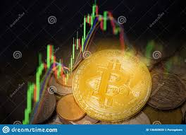 Stock Future Charts Bitcoin Trading Forex Gold Coin Investment Business Graph