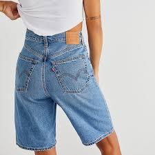Levi's Jeans | <b>Levis High Loose Bermuda</b> Shorts | Poshmark