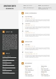 Download Premium Elegant Resume Cv Template
