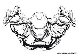 Più Recente Disegni Iron Man Da Stampare E Colorare Disegni Da