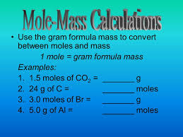 The atomic mass of an element is given in atomic mass units (amu ...