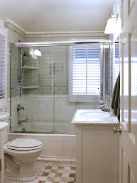 Traditional Bathroom With Bathtub And Frameless Glass Shower Combination  (Image 19 of 19)