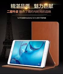 huawei 8 inch tablet. real leather case cover for huawei mediapad m3 8.4 inch tablet pc protective 8 c