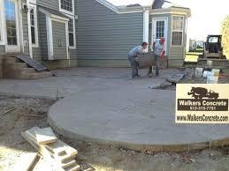 new pour concrete patio for stamped concrete patio mason 82 diy concrete brick patio