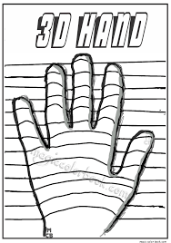 Small Picture picture 3d Coloring Pages 51 In Free Colouring Pages with 3d