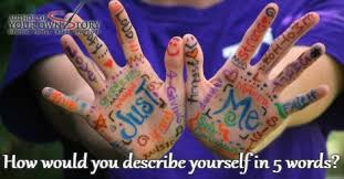 five words to describe you question of the week describe yourself in 5 words author of