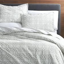 full image for jigsaw ticking stripe duvet cover grey grey linen duvet cover king taza grey