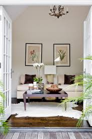 coffee table decor alongside deck