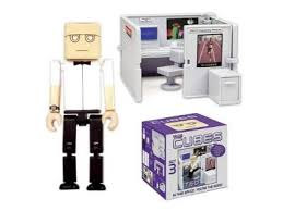 toy office. Cubes Are A Fun Office Desk Toy With Different Cube-like Worker Figures. I\u0027m Lovin\u0027 All Of Them! F